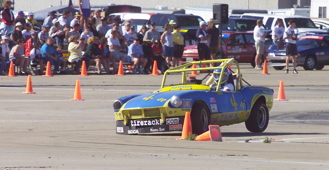 Rocky Entriken Solo Cup winner and SCCA Champion