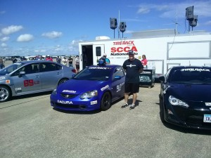 David Whitener SCCA Pro Solo Challenge Winner