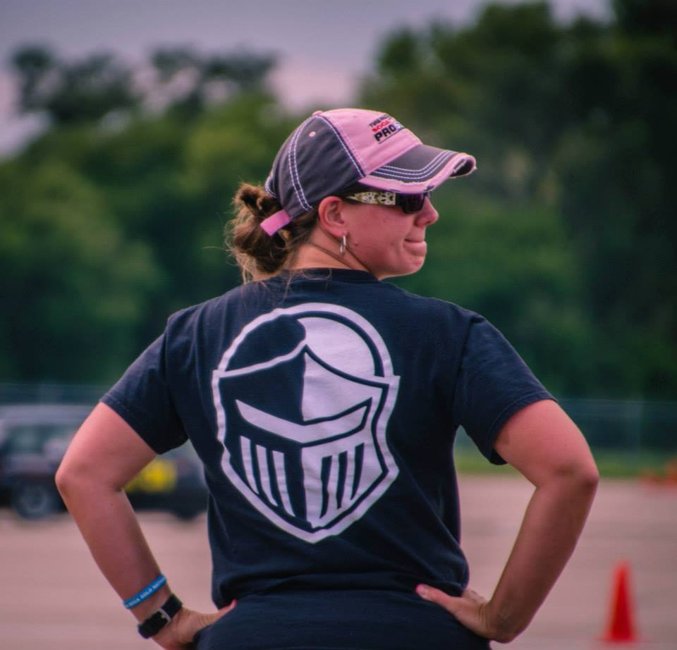 Kim Whitener SCCA Black Armor