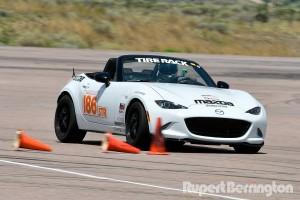 Tom Reynolds SCCA Autocross STR Miata