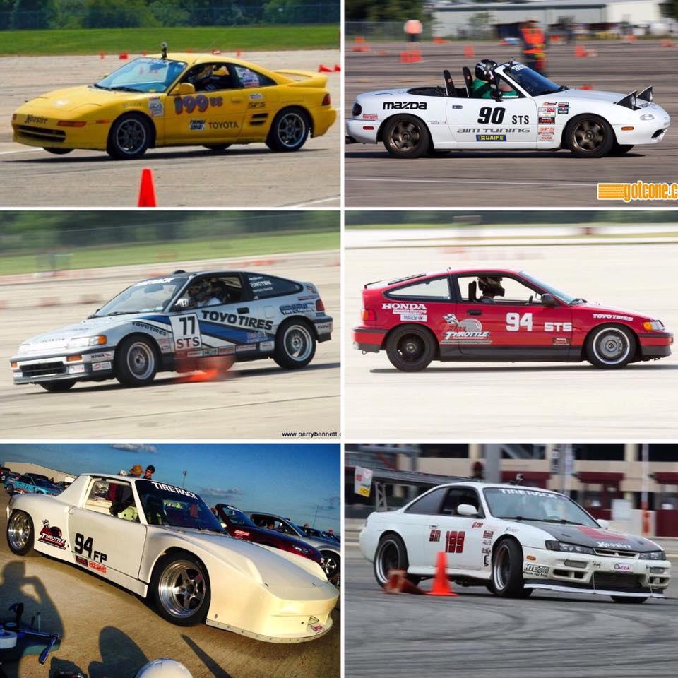 Tom O'Gorman autocross cars