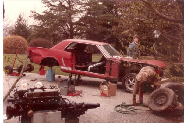 Andy Hollis First Mustang