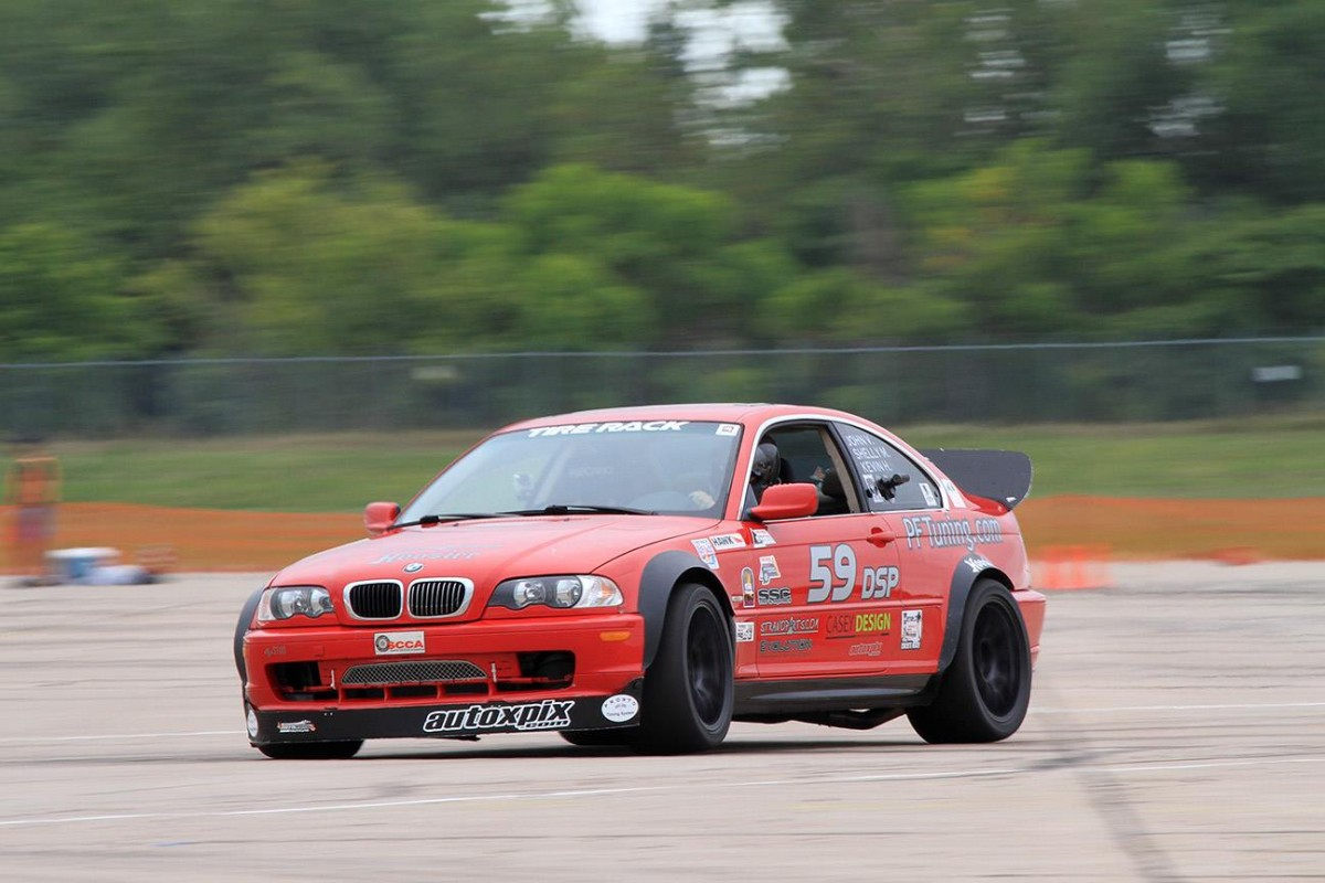 John Vitamvas SCCA Autocrosser with tips and suggestions for his years of competition