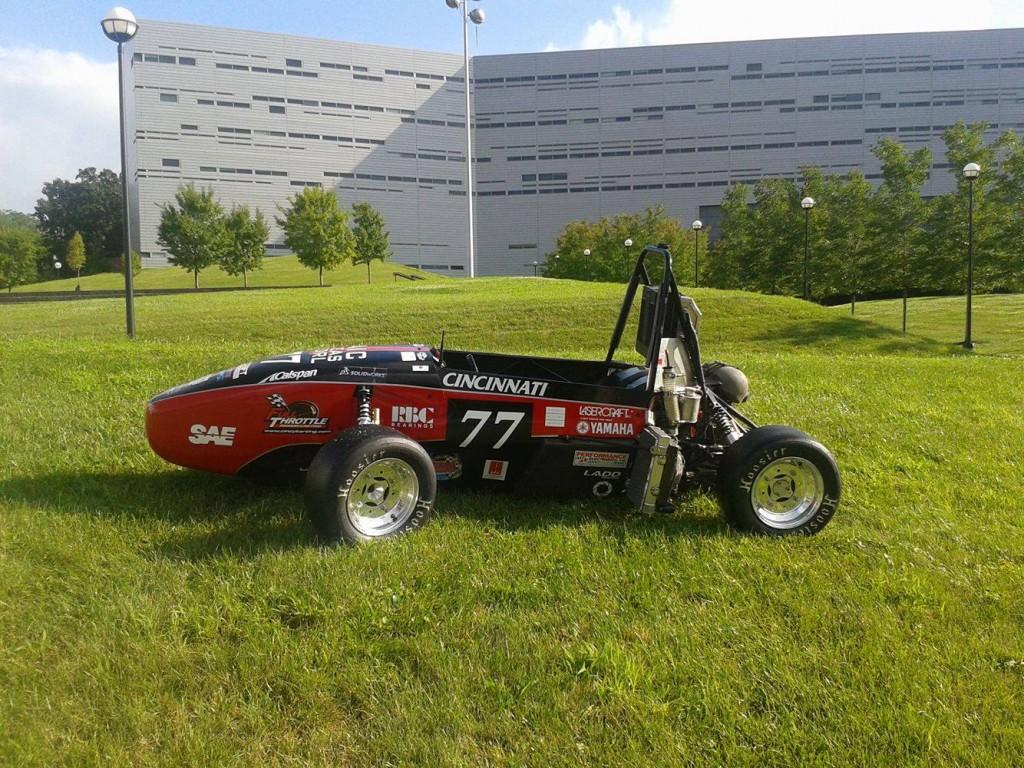 Matt Davis FSAE Car