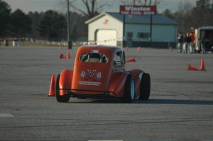 Autocrossing the UVA Legenda Car Dave Ogburn