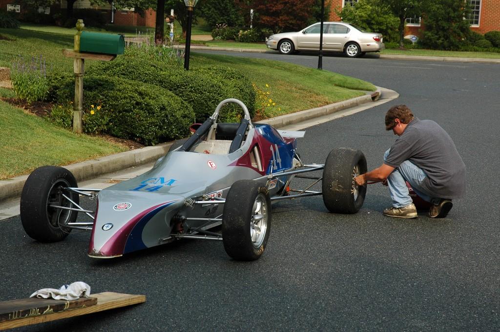 Dave Ogburn Crossle Formula Ford