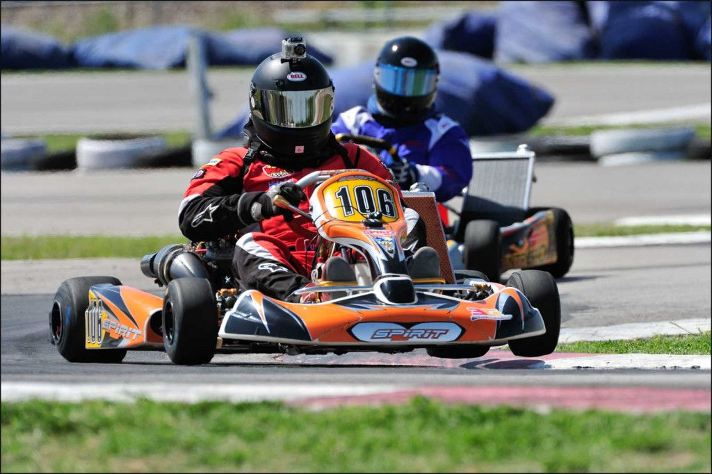 Dave Ogburn Racing shifter karts in 2011