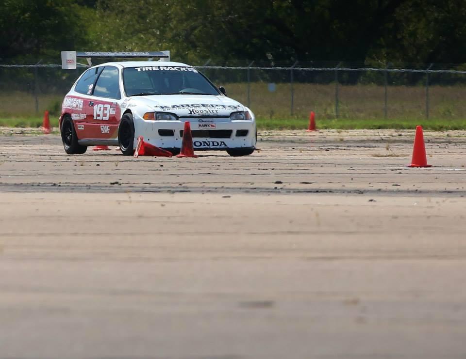 Jinx Jordan SMF Civic Front View Autocross