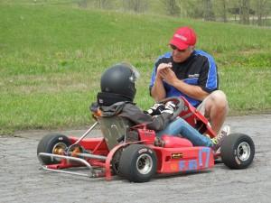 Jinx Jordan coaching Formula Junior Autocross