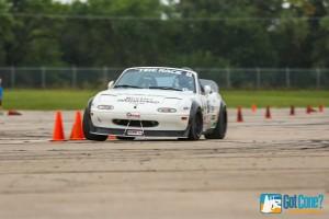 John Hunter Autocross CSP Miata