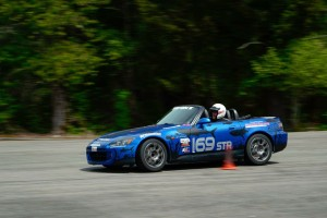 Kevin Dietz Autocrosser National Champion autocrossing his STR Honda S2000