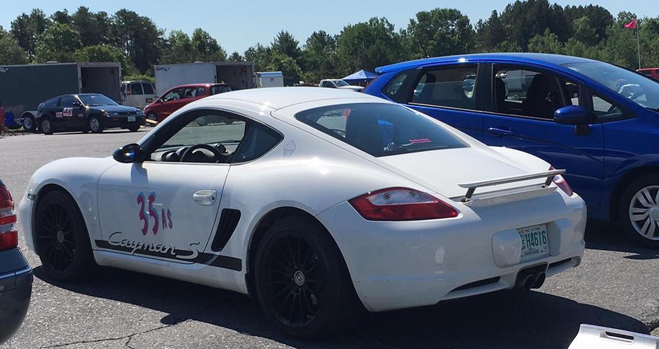 Rachel Baker's Porsche Cayman S