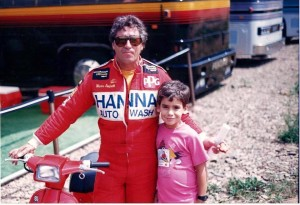 Mario Andretti and Thomas Thompson